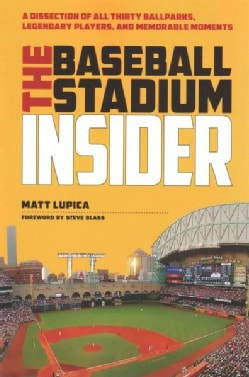 The Baseball Stadium Insider: A Dissection of All Thirty Ballparks, Legendary Players, and Memorable Mome (Paperback)