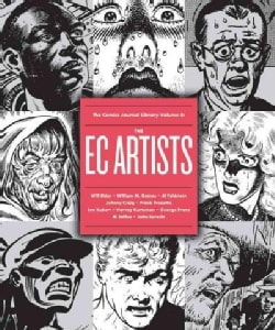 The Comics Journal Library: The Ec Artists (Paperback)
