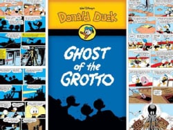 Walt Disney's Donald Duck: The Ghost of the Grotto (Paperback)