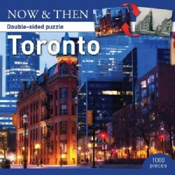 Toronto 1000 Pieces Double-side Puzzle Now & Then (General merchandise)