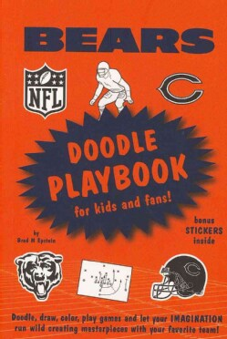 Chicago Bears Doodle Playbook: For Kids and Fans (Paperback)
