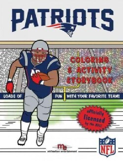 New England Patriots Coloring & Activity Storybook (Paperback)