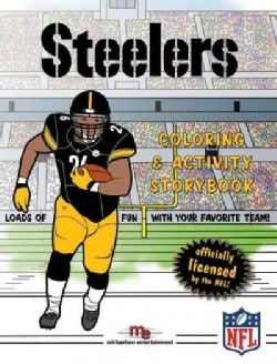 Pittsburgh Steelers Coloring & Activity Storybook (Paperback)