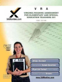 VRA 001 Virginia Reading Assessment: Elementary and Special Education Teachers (Paperback)