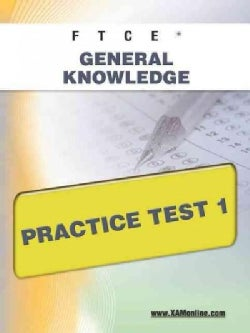 FTCE General Knowledge Practice Test 1: Teacher Certification (Paperback)
