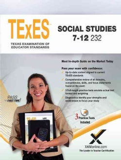 TExES Social Studies 7-12 (Paperback)