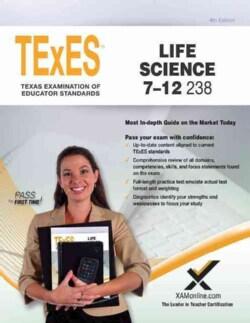 TExES Life Science 7-12 238 Teacher Certification Exam (Paperback)