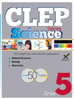 CLEP Science Series 5 (Paperback)