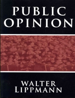 Public Opinion by Walter Lippmann (Paperback)