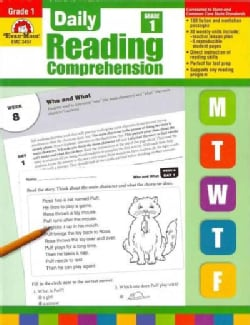 Daily Reading Comprehension, Grade 1 (Paperback)