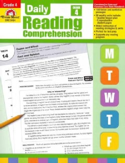 Daily Reading Comprehension, Grade 4 (Paperback)