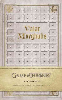 Game of Thrones Valar Morghulis (Notebook / blank book)