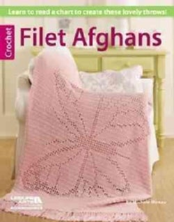 Crochet Filet Afghans (Paperback)
