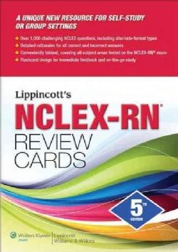 Lippincott's NCLEX-RN Review Cards (Cards)