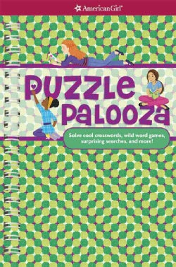 Puzzle Palooza: Solve cool crosswords, wild word games, surprising searches, and more! (Paperback)