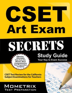 Cset Art Exam Secrets Study Guide: Cset Test Review for the California Subject Examinations for Teachers (Paperback)