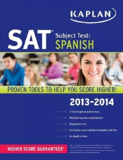 Kaplan SAT Subject Test: Spanish 2013-2014 (Paperback)