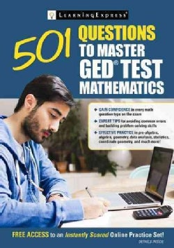 501 Questions to Master Ged Test Mathematics (Paperback)