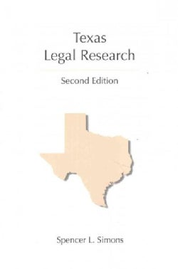Texas Legal Research (Paperback)