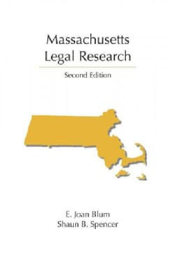 Massachusetts Legal Research (Paperback)