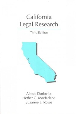California Legal Research (Paperback)
