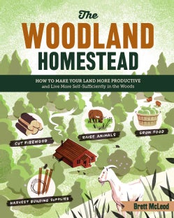 The Woodland Homestead: How to Make Your Land More Productive and Live More Self-sufficiently in the Woods (Paperback)