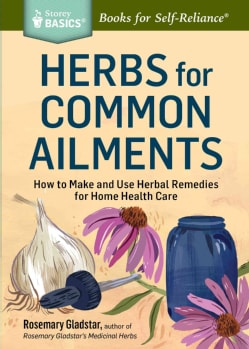 Herbs for Common Ailments: How to Make and Use Herbal Remedies for Home Health Care (Paperback)
