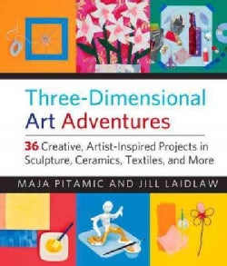 Three-Dimensional Art Adventures: 36 Creative, Artist-Inspired Projects in Sculpture, Ceramics, Textiles, and More (Paperback)
