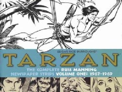 Tarzan: The Complete Russ Manning Newspaper Strips: 1967-1969 (Hardcover)