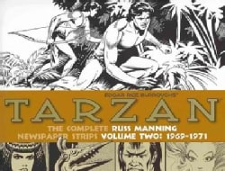 Tarzan: The Complete Russ Manning Newspaper Strips, 1969-1971 (Hardcover)