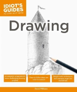 Idiot's Guides Drawing (Paperback)