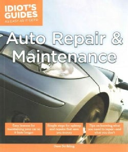 Idiot's Guides Auto Repair and Maintenance (Paperback)