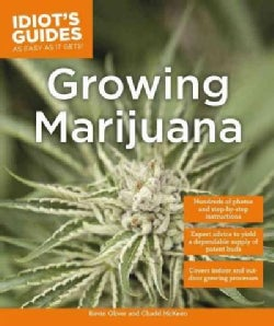 Idiot's Guides Growing Marijuana (Paperback)