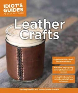 Idiot's Guides Leather Crafts (Paperback)