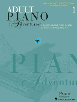 Adult Piano Adventures: All-in-one Lesson Book 1, a Comprehensive Piano Course (Paperback)