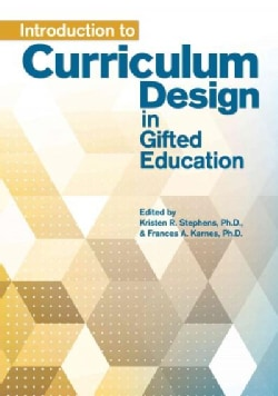 Introduction to Curriculum Design in Gifted Education (Paperback)