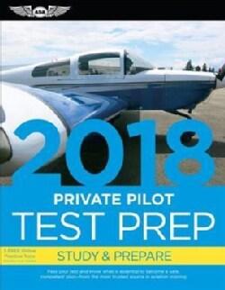 Private Pilot Test Prep 2018: Study & Prepare (Paperback)