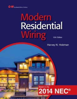 Modern Residential Wiring: Based on the 2014 NEC (Hardcover)