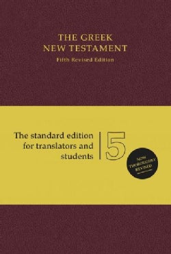 The Greek New Testament: Standard Edition (Hardcover)