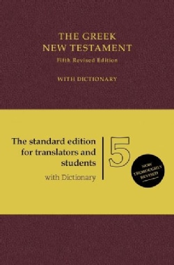 The Greek New Testament: With Dictionary (Hardcover)
