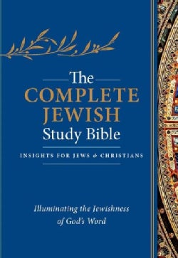 The Complete Jewish Study Bible: Blue, Flexisoft, Illuminating the Jewishness of God's Word (Paperback)