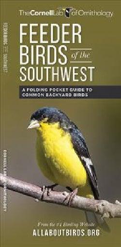 Feeder Birds of the Southwest: A Folding Pocket Guide to Common Backyard Birds (Pamphlet)