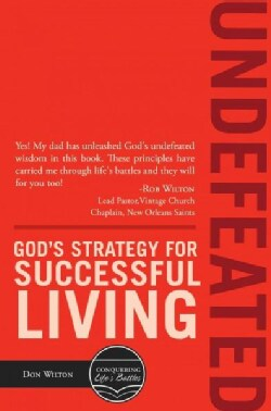Undefeated: God's Strategy for Successful Living (Paperback)