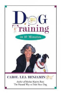 Dog Training in 10 Minutes (Paperback)