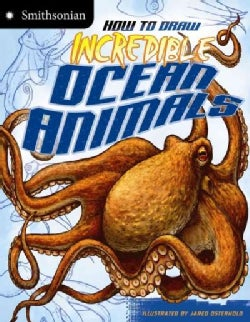 How to Draw Incredible Ocean Animals (Paperback)