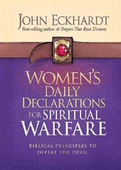 Women's Daily Declarations for Spiritual Warfare (Hardcover)