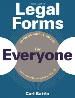 Legal Forms for Everyone: Leases, Home Sales, Avoiding Probate, Living Wills, Trusts, Divorce, Copyrights, and Mu... (Paperback)