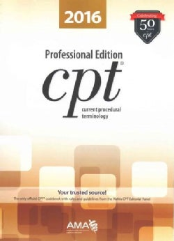 CPT 2016 Professional Edition (Paperback)