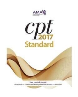 CPT 2017 Standard: Current Procedural Terminology: Standard Edition (Paperback)