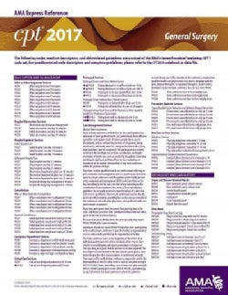 CPT 2017 Express Reference Coding Card General Surgery (Cards)